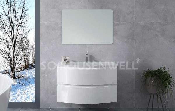 Maintenance method of bathroom basin cabinet