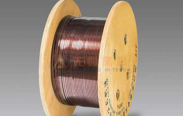 Rectangular Enameled Aluminum Wire Needs To Be Painted During Processing