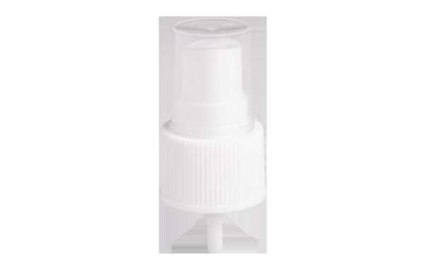 Cosmetic Sprayer Liquid Is Transformed Into Fine Mist