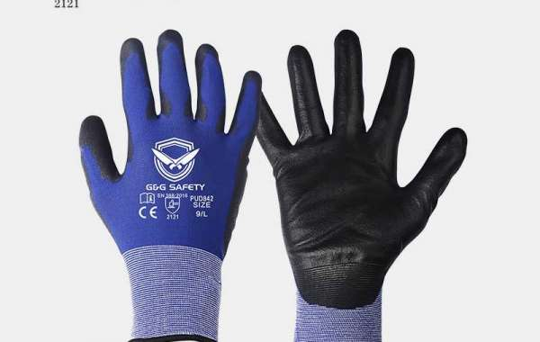What is the difference in material between nitrile gloves and latex gloves?