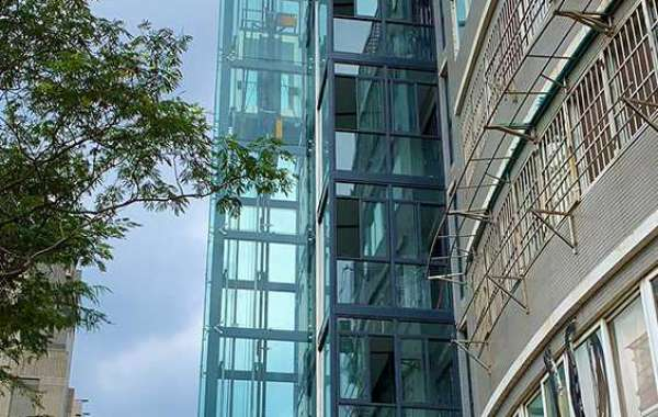 Do you know about external shaft elevator?