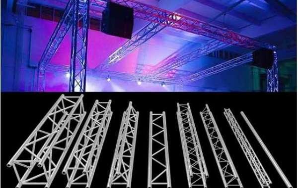 Aluminium truss system stage