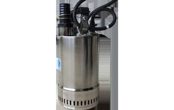 Stainless Steel Submersible Sewage Pump is made of stainless steel housing and volute