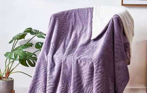 Home textile application of flannel fabric